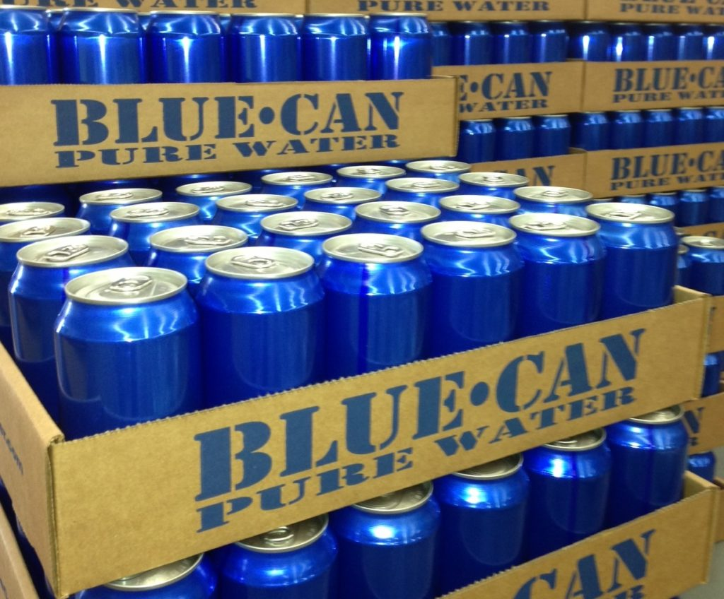 bluecanwater